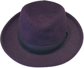 Hermã ̈S HermAs Purple Cashmere Hats