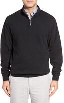Peter Millar Quarter Zip Fleece Pullover