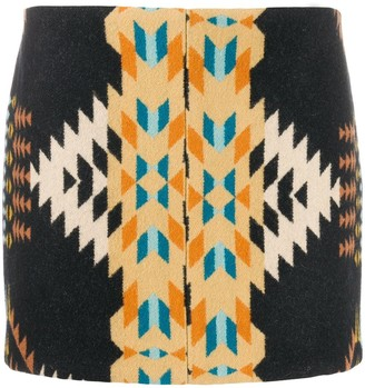 Jessie Western Night Weaver mini skirt
