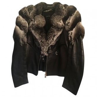 Jitrois Black Fur Jacket for Women