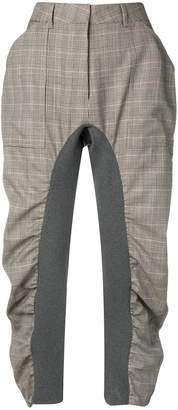Stella McCartney cropped check trousers