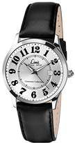 Limit Men's Quartz Watch with Silver Dial Analogue Display and Black Strap 5881.25