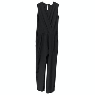 Charlotte Sparre Black Silk Jumpsuit for Women