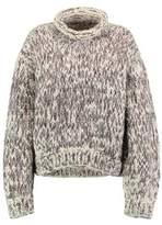 IRO Cable-Knit Wool Turtleneck Sweater