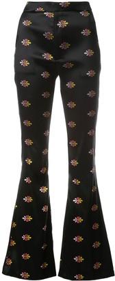 Cynthia Rowley Natalie jacquard trousers