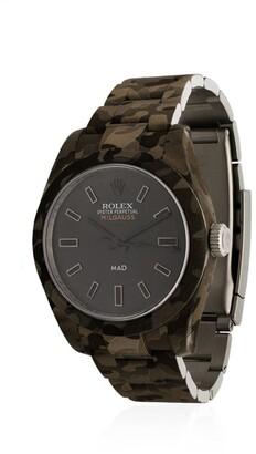 Rolex MAD Paris Milgauss camouflage watch
