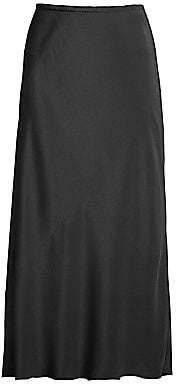 Eileen Fisher Women's Bias Silk Skirt