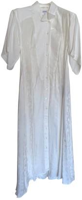 Loewe White Viscose Dresses