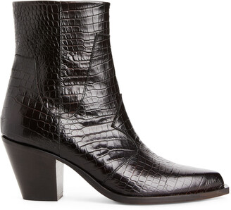 Arket Leather Ankle Boots