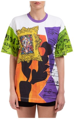 Moschino Collage Printed T-Shirt
