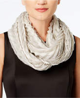 Steve Madden Ethereal Essence Metallic Infinity Scarf