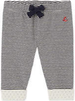 Petit Bateau Baby boy's striped double knit cotton pants