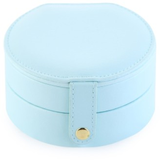 Goodnight Macaroon 'Bonnie' Small Circle Travel Jewelry Box (4 Colors)