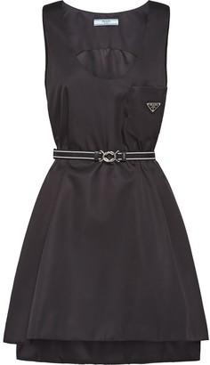 Prada Nylon gabardine dress