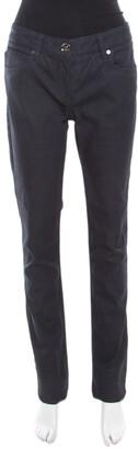 Burberry Burebrry Brit Indigo Dark Wash Straight Fit Denim Jeans M