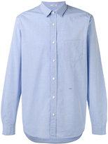 Closed dot print shirt