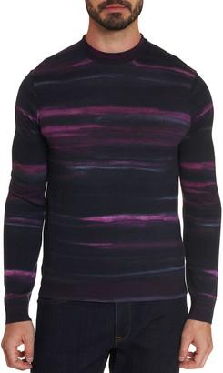 Robert Graham Men's Vividstroke Wool Sweater