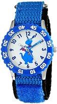 Disney Kids' W001934 Stuffy Analog Display Analog Quartz Blue Watch