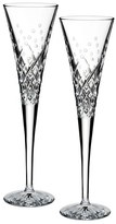 Waterford 'Happy Celebrations' Lead Crystal Champagne Flutes