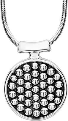 Lagos Bold Caviar Silver Necklace