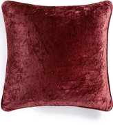 """Martha Stewart Collection Solid Velvet 20"""" Square Decorative Pillow, Created for Macy's Bedding"""