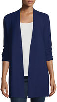 Eileen Fisher Crisp Organic Cotton Links Cardigan
