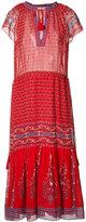 Ulla Johnson tassel detail midi dress - women - Silk/Polyester - 6