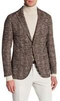 Eleventy Trim Fit Tweed Sport Coat