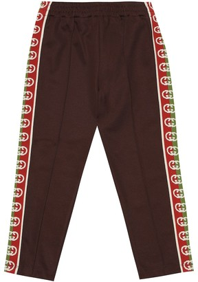 Gucci Kids GG technical jersey trackpants