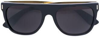 RetroSuperFuture Francis flat top sunglasses