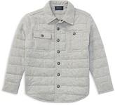 Ralph Lauren Boys' Quilted Shirt Jacket - Little Kid