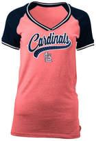 5th & Ocean Women's St. Louis Cardinals Rhinestone Night T-Shirt