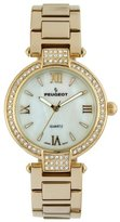 Peugeot Women's 'Mother of Pearl' Quartz Metal and Alloy Dress Watch