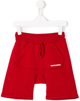 DSQUARED2 drawstring shorts - kids - Cotton - 6 yrs