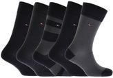 Tommy Hilfiger 5 Pack Socks Navy