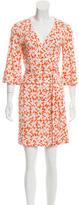 Diane von Furstenberg Silk Renny Wrap Dress