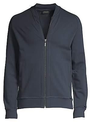 Hanro Men's Living Zip-Front Jacket