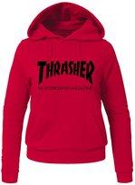 Thrasher Printed Hoodies Thrasher Printed For Ladies Womens Hoodies Sweatshirts Pullover Tops