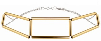 Noshi Cut-Out Gold Choker
