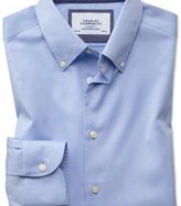 Charles Tyrwhitt Slim fit button-down business casual non-iron sky blue shirt