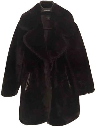 The Kooples Fall Winter 2019 Black Faux fur Coat for Women