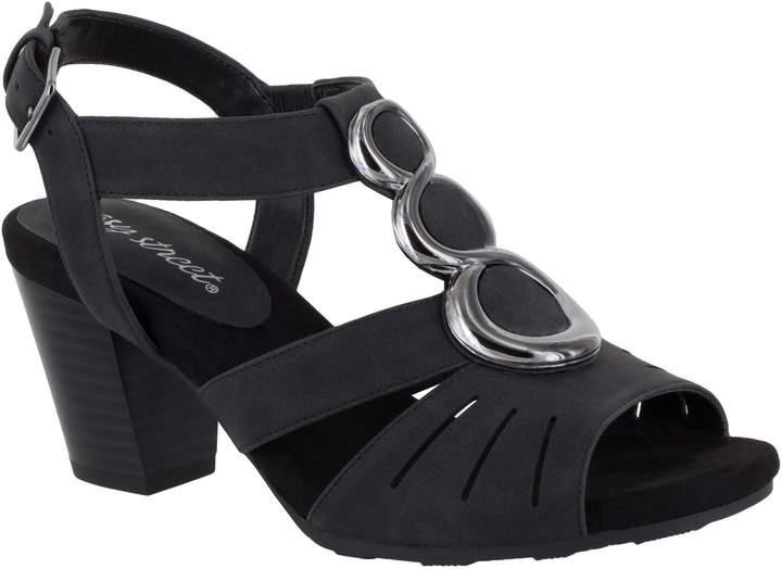 Easy Street Shoes Block-Heel Sandals - Casey