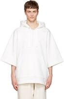 Acne Studios White Short Sleeve Florida Hoodie