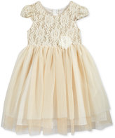Bonnie Jean Little Girls' Floral-Lace Special Occasion Dress