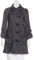 Diane von Furstenberg Patterned Short Coat