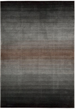 """Nourison MANUFACTURER'S CLOSEOUT! Area Rug, Contour CON08 Grey 7' 3"""" x 9' 3"""""""