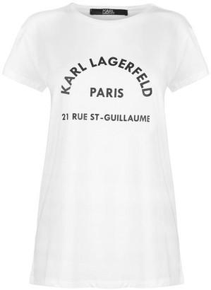 Karl Lagerfeld Paris Address Tee