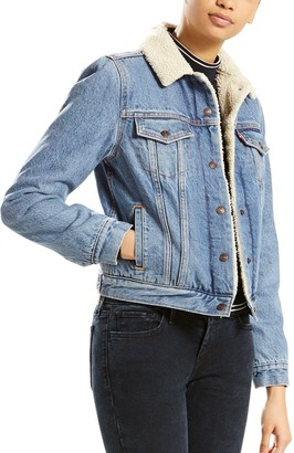Levi's Women's Sherpa-Lined Trucker Jacket