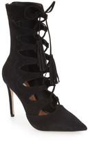 Steve Madden 'Piper' Lace-Up Bootie (Women)
