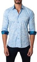 Jared Lang Men's Paisley Sport Shirt